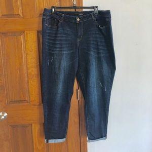 Lane Bryant Jeans Boyfriend Ankle Pants Size 20